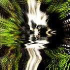 Waterfall Explosion  by Ian Jeffrey