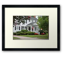 Beautiful Historic Home Framed Print