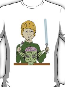 Luke Eats Yoda's Brain T-Shirt