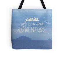 Off To An Island Adventure Blue Coast Dawn Tote Bag