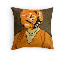 d12 Throw Pillow