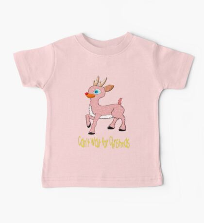 Can't Wait for Christmas T-shirt Baby Tee