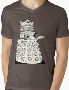 Dalek Mens V-Neck T-Shirt