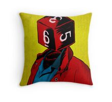 d6 Throw Pillow