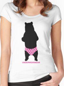 UNDERWEARBEAR Women's Fitted Scoop T-Shirt