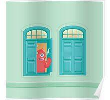 ¡Hay un monstruo en la ventana! Poster
