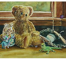 Teddy and Friends Photographic Print