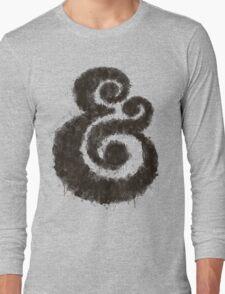 Ink Ampersand Long Sleeve T-Shirt
