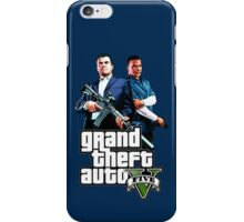Michael and Franklin iPhone Case/Skin