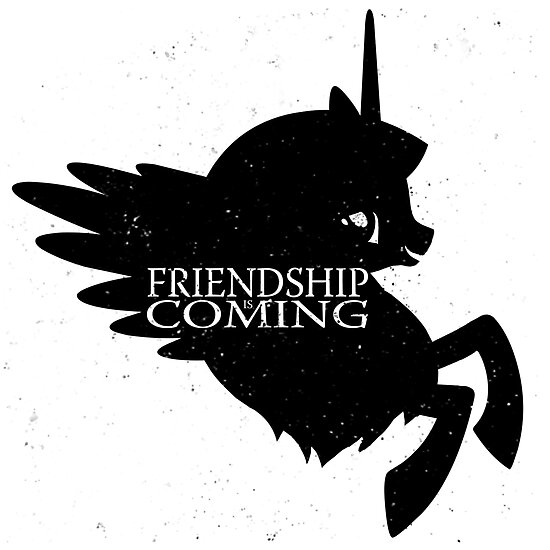 Friendship Is Coming by Creativecyclone