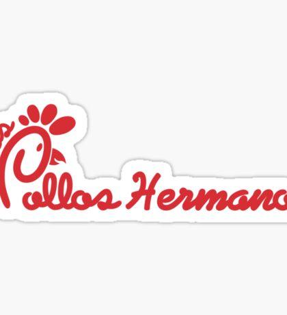 Los Pollos Hermanos & Chick-Fil-A Mashup Sticker