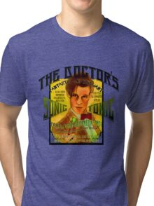 The Doctor's Sonic Tonic! Tri-blend T-Shirt