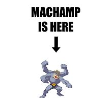 Machamp Is Here by mjgallant