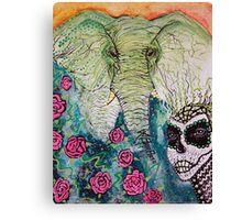 Elephant Keeper Canvas Print