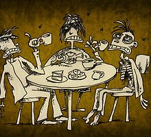 zombie tea party  by Matt Mawson