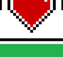 A Hero's Heart Sticker