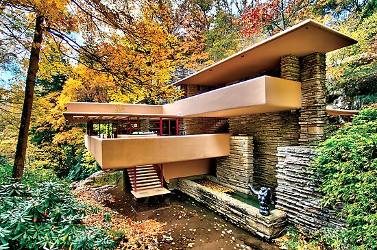 The Art & Architecture of Fallingwater by Steve Ivanov