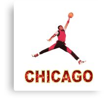 Michael Jordan Chicago Canvas Print