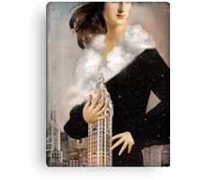 Over Manhattan Canvas Print