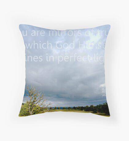 ACIM #5 Truth is Love Throw Pillow