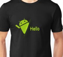 "Android ""Hello"" /  Unisex T-Shirt"