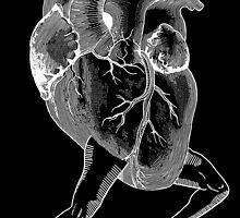 Racing Heart BLACK by nabila  rouabah