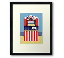 Punch & Judy Framed Print