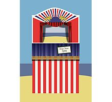 Punch & Judy Photographic Print