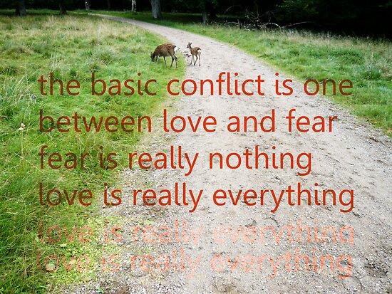 ACIM #6 Fear is Nothing by HeklaHekla