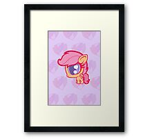 Weeny My Little Pony- Scootaloo Framed Print