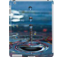 Blue Splash iPad Case/Skin