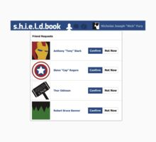 s.h.i.e.l.d.book by Prander84