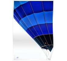 Balloon Blue Poster