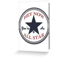 Smash Mouth - All Star Greeting Card