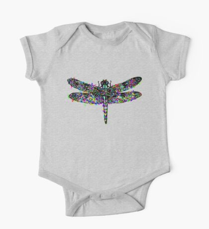 Dragonfly One Piece - Short Sleeve