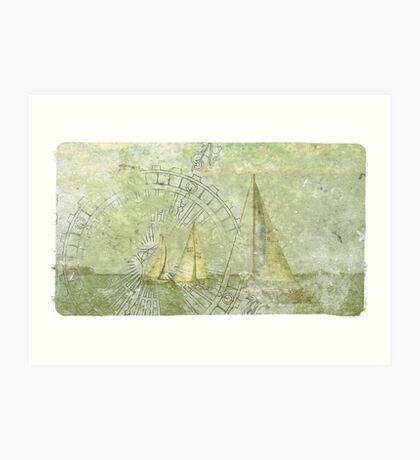 Sea Voyage  Art Print
