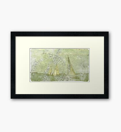 Sea Voyage  Framed Print