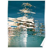 Port reflections Poster