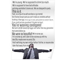 Nathan's Speech Poster