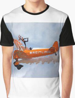 Breitling Wingwalking Team's Stearman Graphic T-Shirt