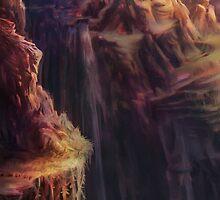 Spectrum of Mana: Lofty Mountain by LightningArts