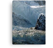 Iced keyboard Canvas Print