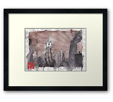 MAD GOD CONCEPT ART : The Watchtower Framed Print