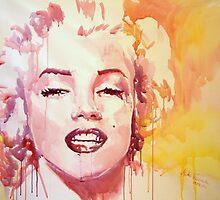Merylin Monroe by Marta-Zawadzka