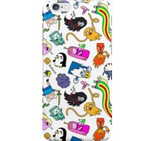 Cute Adventure time pattern! iPhone Case/Skin
