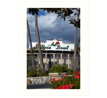 """The Rose Bowl - Pasadena"" Art Print"