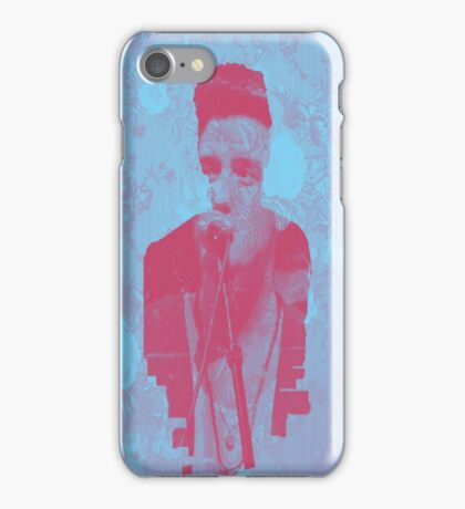 Logan Henderson Silhouette iPhone Case/Skin