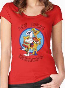 Los Pokés Hermanos Women's Fitted Scoop T-Shirt