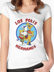 Los Pokés Hermanos Women's Fitted Scoop T-Shirt