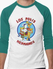 Los Pokés Hermanos Men's Baseball ¾ T-Shirt
